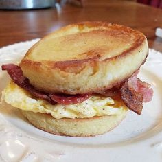 From @keto_unleashed I saw this recipe for one minute bread and had to try it to make a breakfast sandwich. It was worth it. Keep a napkin handy! Or serve with wax paper like a fast food burger. It's delicious but messy. (And I pan toasted mine as opposed to a toaster. There is a lot of coconut oil.) http://ift.tt/1NM0hTE  #keto #ketomeals #lchf #lowcarb #highfat #atkins #bestdietever #whatdiet #fatisfuel #ketogenic #kcko #eatfatloseweight #lowcarbhighfat #ketosis #ketocooking…