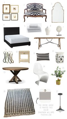 Elements of Style Blog | Monochromatic Marvel (and it's a rental!) | http://www.elementsofstyleblog.com