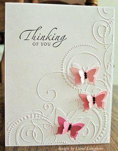 Darice Butterfly Corner Embossing Folder