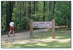 Jemison Park in Mountain Brook is a beautiful place to take a run, look for unusual birds or even have a picnic.