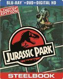Jurassic Park [2 Discs] [Includes Digital Copy] [UltraViolet] [SteelBook] [Blu-ray/DVD] [1993]
