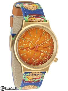 From Skate Warehouse: The Komono Wizard Watch Burger Time is happy and hungry. This is one fun wrist watch. A slim, minimal watch with a bold print. Komono detailing throughout. Features: Japanese ...