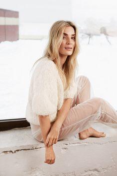 Side 7 – Camilla Pihl Strikk White Cardigan, Camilla, Peonies, Dresses With Sleeves, Knitting, Long Sleeve, Womens Fashion, Sweaters, Design