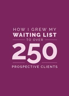 Growth is key to every business. Sharing how I grew my client list to 250+ on the blog!