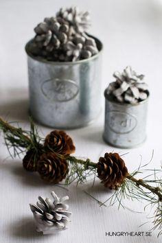 DIY Miljövänliga braständare och julpynt | DIY Eco-Friendly Pinecone Fire Starters and Christmas Decorations