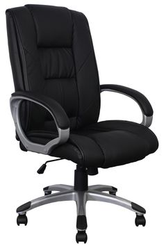 Inside Job New Leather Executive Chair Black