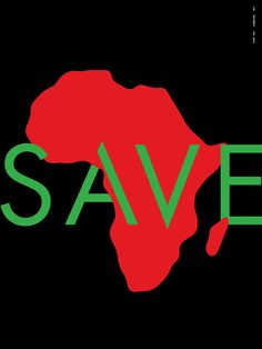 Save Africa http://stopthecampaign.com/Save-Africa #StopTheCampaign #poster #Think