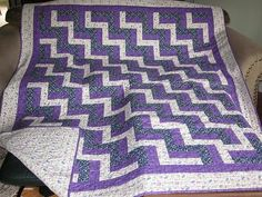 free rail fence quilt patterns to print | learned how to quilt 3 years ago at a quilt shop near my home. I'm ...