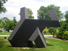 Tony Smith 1968 'Moses', Toledo Museum of Art (TMA)