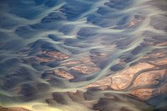 #geometric  River - Aerial photography