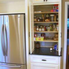 Corner Pantry Cupboard Storage Ideas