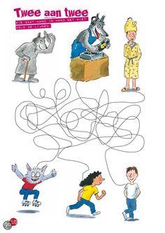 Werkblad dolfje School, Family Guy, Snoopy, Van, Guys, Comics, Fictional Characters, Party, Vans