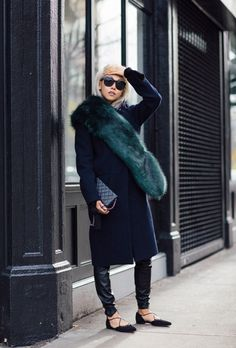 25 Winter Layering Outfit Ideas to Copy for 2016 | @stylecaster