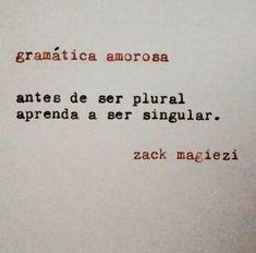 Gramática amorosa