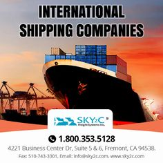 Sky2c provides international #shipping services and customs clearance service at low cost
