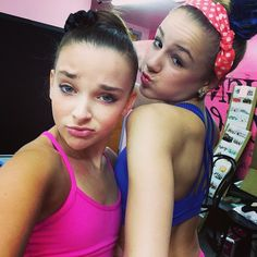 Kendall and Chloe from Dance Moms