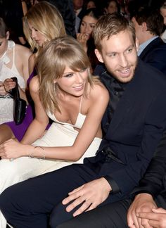 Taylor Swift and Calvin Harris showed the sweetest PDA at the Billboard Music Awards! Throughout the night, they hugged whenever she won an award, and they were seen laughing together in their seats. Check out all the cutest pictures of the couple, plus a video of their hug!