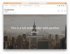 """Képtalálat a következőre: """"wordpress customizr web pages 2017"""""""