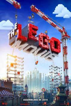 LEGO movie poster...it's just the poster, but can you imagine the reaction when kids get a hold of this trailer???  Amazing!!
