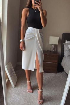 Looks Chic, Looks Style, Cute Casual Outfits, Stylish Outfits, Classy Chic Outfits, Cute Professional Outfits, Casual Office Outfits Women, Smart Casual Work Outfit, Classy Outfits For Women
