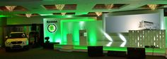 Stage at Skoda Conference Conference, Flat Screen, Stage, Neon Signs, Events, Blood Plasma, Flatscreen, Plate Display, Scene