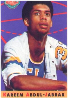 Kareem Abdul-Jabbar (Lew Alcindor) while at UCLE had a spectular college career. Check out his accomplishments - Twice named Player of the Year (1967, 1969), Three-time First Team All-American (1967–69), Played on three NCAA basketball championship teams (1967, 1968, 1969), was honored as the Most Outstanding Player in the NCAA Tournament (1967, 1968, 1969), and became the first-ever Naismith College Player of the Year in 1969.