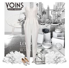 """""""yoins jumpsuit"""" by bodangela ❤ liked on Polyvore featuring yoins"""
