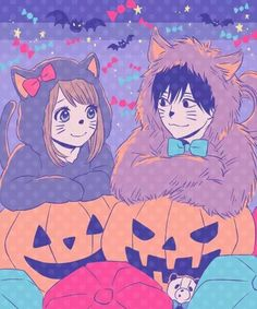 littleprincesslela cuties falling in love not mine - I Luv Halloween Manga