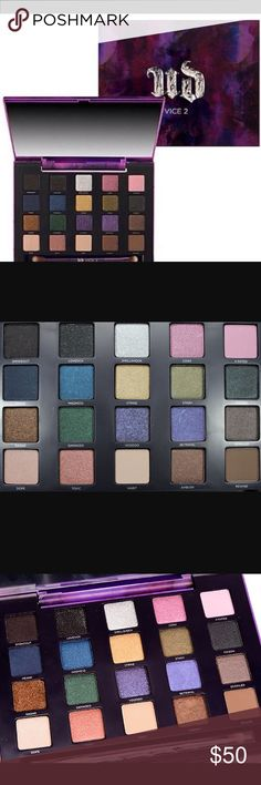 ✨rare limited edition✨ urbane decay vice 2 Rare limited edition vice 2 palette only 2 colors ever used, shell shock and lovesick Urban Decay Makeup Eyeshadow