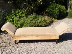 Reclining Day Bed on both sides. Great for an afternoon snooze. Height: 67cm Width: 144cm Depth in seat: 68cm SOLD
