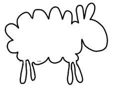 free printable stencils free printable stencil lamb
