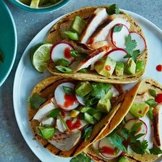 ... make these easy-to-make chicken tacos the perfect summer dinner. More