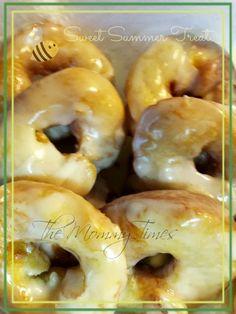 Sweet summer treats... DIY Egg free Doughnuts