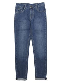 Blue Mid Wash Super Skinny Jean - BHS