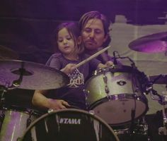 Chad and his daughter Charlotte! Fading West.
