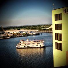 Enjoy a riverboat cruise when you visit Savannah!