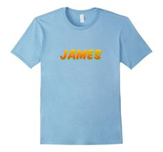 JAMES Christian Name T-Shirt Relaxed Fit