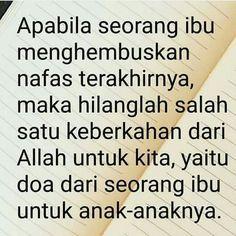 Mintalah Doa Ibu.... http://ift.tt/2f12zSN