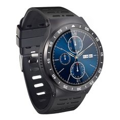 3G Smart Watch Cell Phone, Bluetooth Wristwatch with Android 5.1 OS Quad Core 8GB, Support WiFi GPS 5.0MP Camera SIM Card Heart Rate Monitor Pedometer Google Map, Smartwatch for Android &iOS. Advanced Configuration: KOBWA S99A smart watch adopts MTK6580 Quad Core with Android 5.1 OS, RAM 512M + ROM 8G. 1.33 inch ONCELL round capacitive touch screen with 360*360 resolution.Durable aluminum watch case with high quality soft TPU band comforts your skin. Built-in 450 mAh high capacity battery...