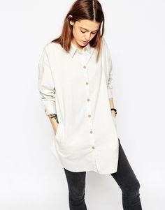 Image 1 of ASOS Soft Twill Oversized Shirt