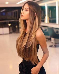 72 Brunette Hair Color Ideas in 2019 Ideas, Hair, Hair Goals, Brunette, Color Curly Hair Styles, Natural Hair Styles, Haircuts For Long Hair, Haircut Long Hair, Short Haircuts, Long Layered Haircuts, Hairstyle Short, Long Brunette Hairstyles, Haircut Style