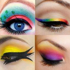 maquiagem artística olhos - Pesquisa Google