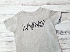 2nd Birthday Shirt  Twonado Boys Second Birthday Party Top