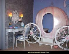 fairy tale rooms/images | ... fairy princess theme bedroom ideas - Princess bed - Disney Princess