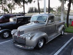 "Location: Car Cruise-In ""The Plaza At Davie"" FL.. 1941 Chevy Pick-Up Truck  ~ Photographer: Tim Sims ~ 05-01-2015"