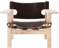 The Danish Designer Borge Mogensens Spanish Chair was one of Edgar Weylandt's favourite chair designs. Inspired by the Spanish chair Edgar created his own version and upon his passing Weylandts has replicated Edgars chair in his memory. Outdoor Chairs, Outdoor Furniture, Outdoor Decor, Living Room Decor Styles, Weylandts, Decoration, Chair Design, Living Spaces, Interior