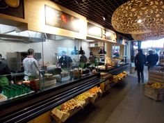Harvest Market by Redesign Group, Calais   France food