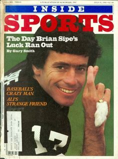 1981 Inside Sports: Brian Sipe - Cleveland Browns