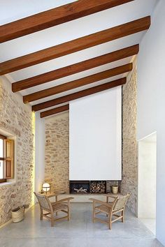 Casa payesa en Formentera, chimenea