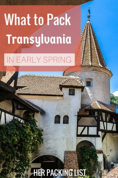 Anna found that Romania wasn't as warm as she had hoped in early spring. Here's her female travel packing list for Transylvania to help you plan your trip. Her Packing List, Packing List For Travel, Europe Travel Guide, Travel Tips, Travel Guides, Travel Essentials For Women, Travel Necessities, Travel Must Haves, I Want To Travel